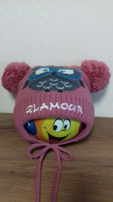 Шапка шапочка зимняя