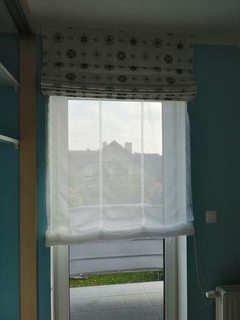 Roleta rzymska Dekoria na okno balkonowe