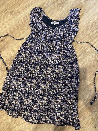 Sukienka w kwiaty 36 s clockhouse