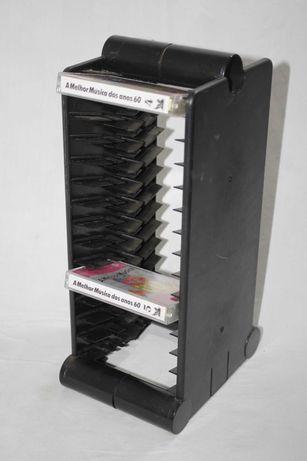 Suporte torre arrumação para cassetes audio k7s - Viena Austria