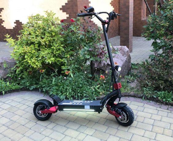 Полноприводный электросамокат City Rider Lite 2400W 25Ah v2