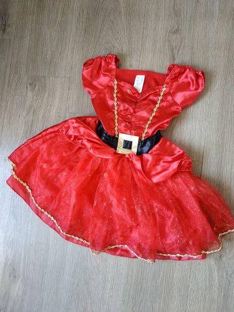 Strój karnawałowy sukienka na 3-4 latka