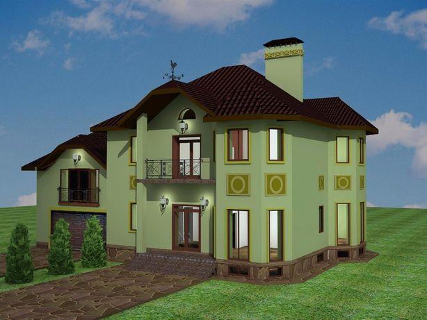 Продам 420 м2 дом участок 30 сот земли с. Хотов Киево-Святошинский р-н