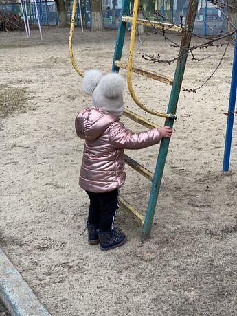 Куртка демисезонная детская для девочек