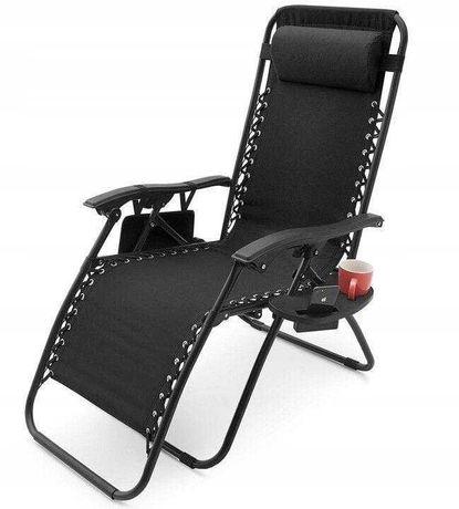 Пляжное кресло шезлонг с подлокотниками Zero Gravity для пикника