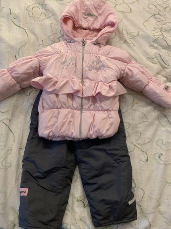 Продам зимний комплект на девочку