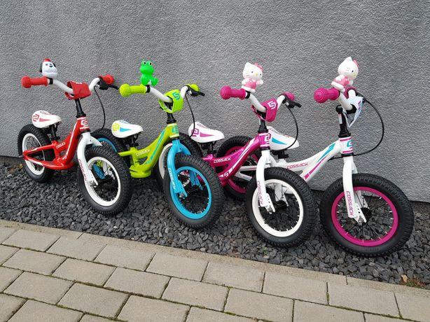 Rower biegowy rowerek dla dziecka aluminiowy z hamulcem odpychacz Iggi