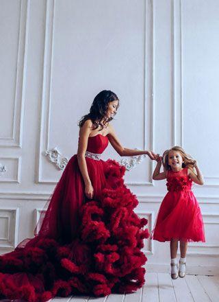 Вечерние платья для выхода / фотосессии для детей и взрослых