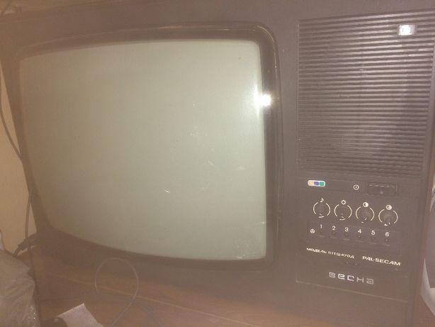 Телевизор цветной ВЕСНА. НЕ на запчасти!