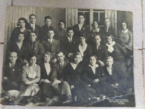 Фотография 1936 года и 1940 года