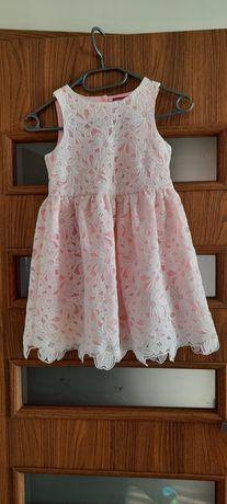 Sukienka sukieneczka dziewczynka 6 - 7 lat 122cm wesele balowa
