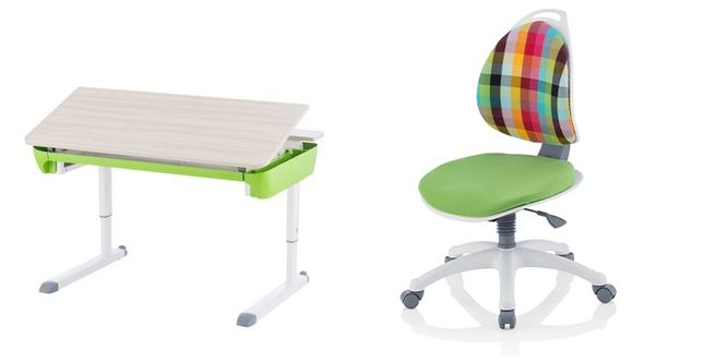 Nowe biurko Kettler Maze ,+ krzesło Kettler Berri Colored,okazja