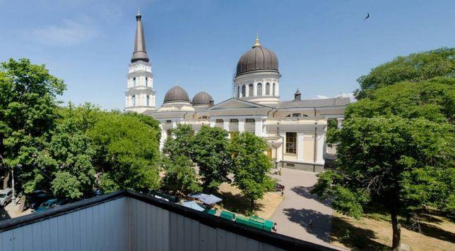 Продам двухуровневую квартиру в центре соборная пл. обмен