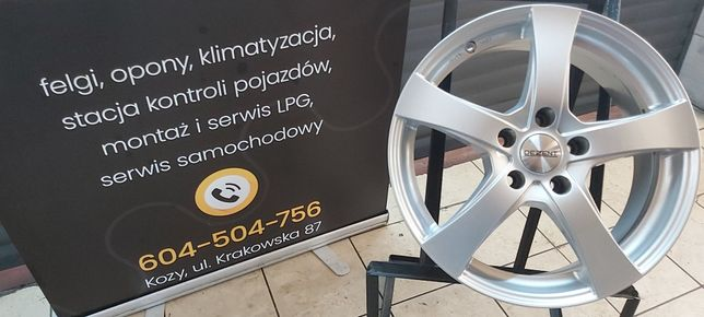 """Felgi Aluminiowe 5x112 17"""" Audi Mercedes Seat Vw Skoda"""