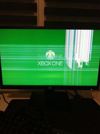 Uszkodzony monitor hp 22 x
