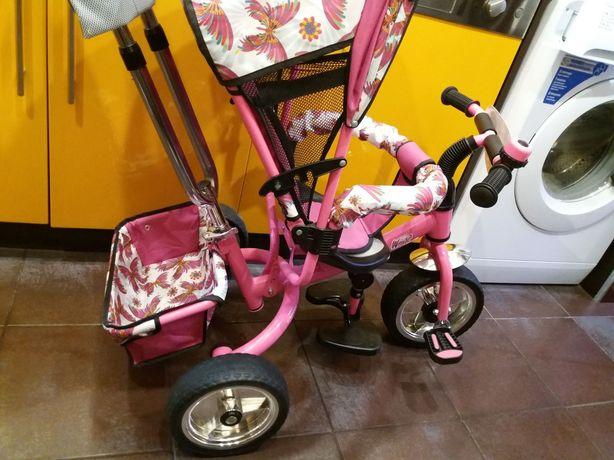Классный розовый велик/велосипед для девочки Winx