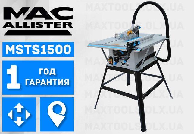 Циркулярка Пила циркулярная Macallister MSTS1500 Einhell tc ts 2025 u