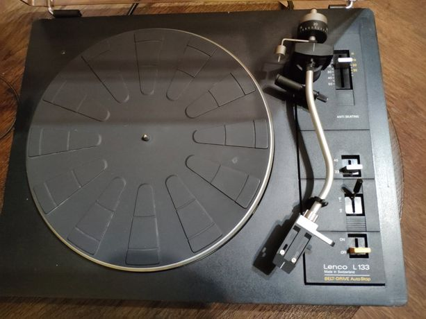 Lenco L133 - piękny szwajcarski gramofon!