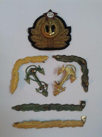 Редкие элементы формы одежды ВМФ СССР 1952-56 гг