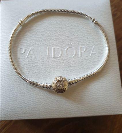 Bransoletka Pandora 18cm próba S925 ALE