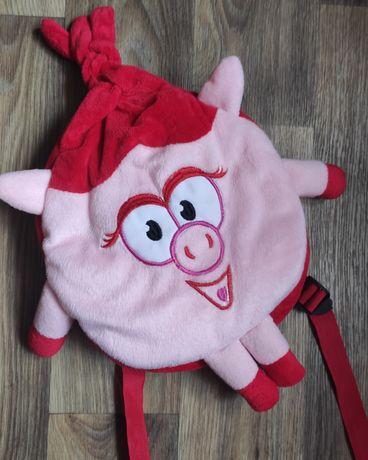 Рюкзак с Нюшей,сумка для девочки