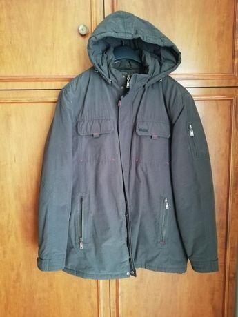 Czarna męska kurtka zimowa Folstop rozm. XL