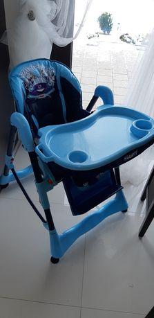 Nowe krzesełko do karmienia/kółka