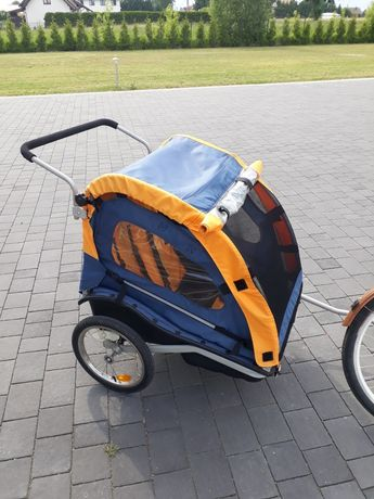 Przyczepka rowerowa riksza