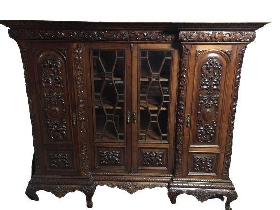 Movel livreiro escritorio antigo D João V