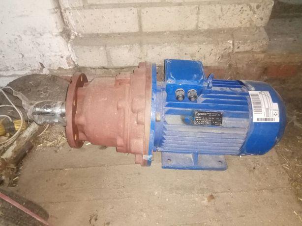 Електро мотор редуктор 11 кВт