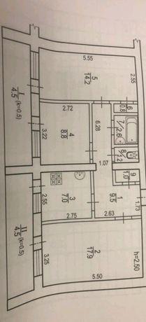 ул.Рабочая 3к квартира 2/9 кирпич.