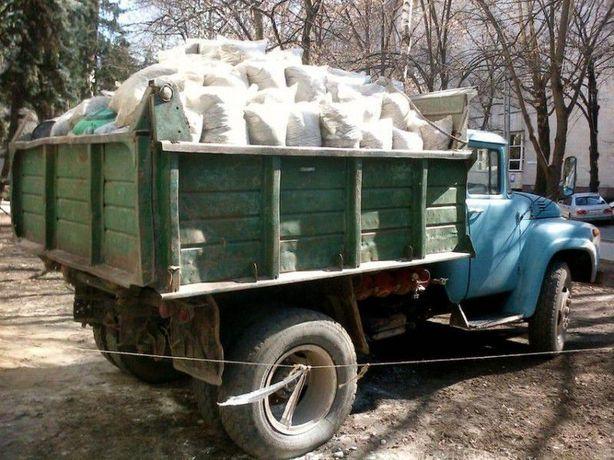 Вывоз мусора,чернозем,песок, щебень, граншлак. (недорого)