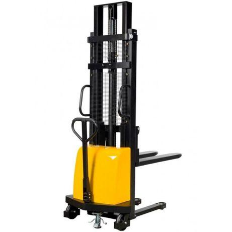 Paleciak Wózek paletowy masztowy sztaplarka elektryczny (Wysyłka)