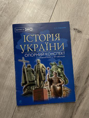 Книга в таблицах для подготовки зно с истории Украины