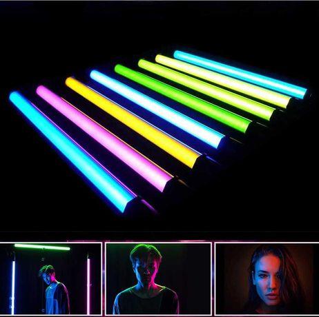 Лампа LED для селфи led stick RGB. Селфи лампа