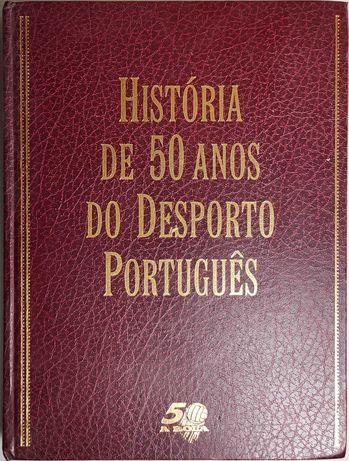 Livro - História de 50 Anos do Desporto Português - A Bola