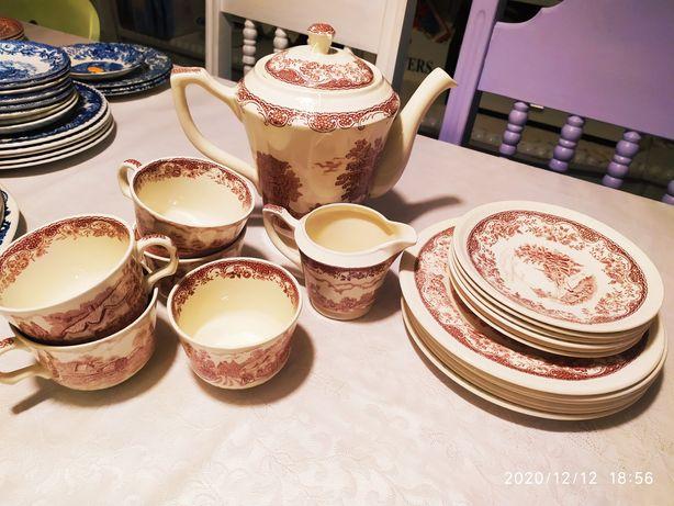 Zestaw porcelany angielskiej Royal Tudor ware