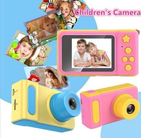 Máquina fotográfica crianças