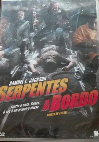 DVD Serpentes a Bordo
