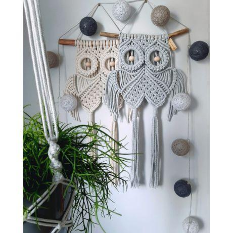 Sowa Makrama handmade