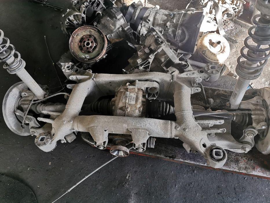 Belka tylna zawieszenia sanki wózek BMW E60 520D Szydłowiec - image 1