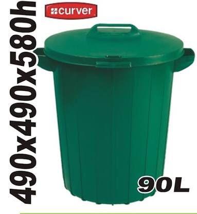 Pojemnik kosz na odpady śmieci Curver 90L