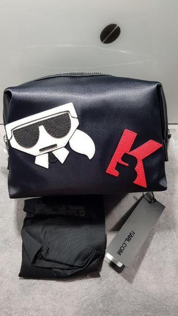 Oryginalna kosmetyczka marki Karl Lagerfeld