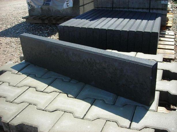 Obrzeża betonowe grafitowe kostka brukowa granitowa krawężnik opornik