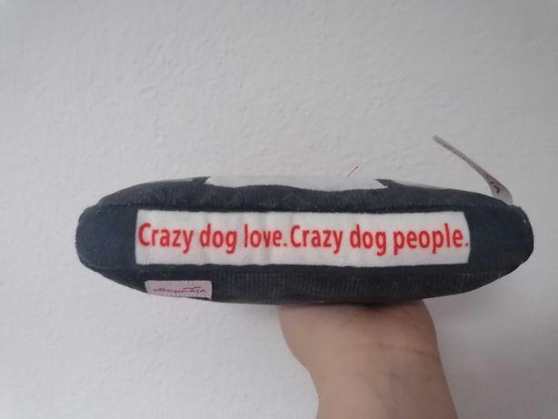Brinquedo de cão com apito