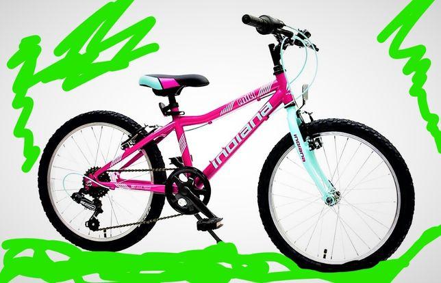 Rower INDIANA Mili 20'' Fuksjowy róż dziewczynki