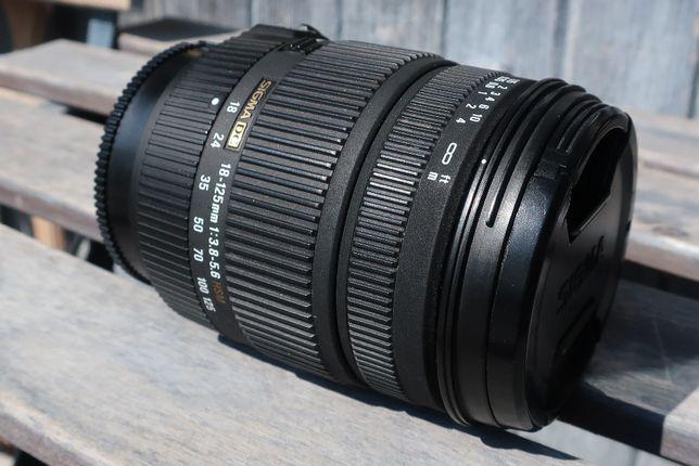 obiektyw Sigma 18-125 mm f/3.8-5.6 DC HSM do SONY