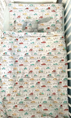 Pościel 100%bawełna do łóżeczka 100x135