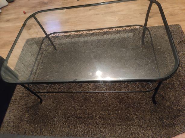 Stolik kawowy Ikea z półką