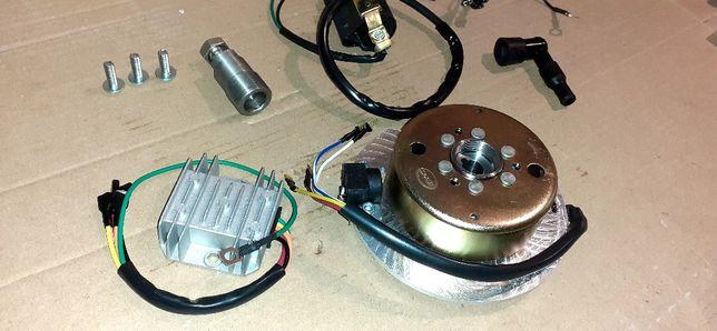 Zapłon stator iskrownik wsk125 CDI bezstykowy(LELEK kos Bąk b3 b1)